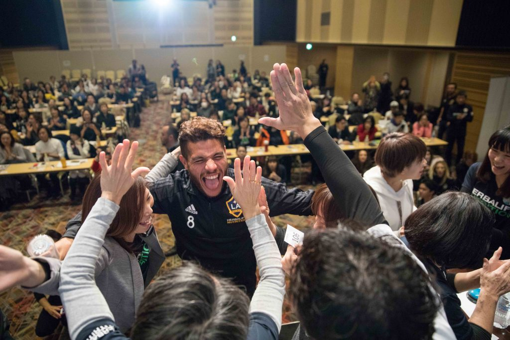 APAC LA GALAXY 2018 TOKYO TRAINING DAY wide 1394 1 1024x683 - Changing Lives Through Sports and Good Nutrition